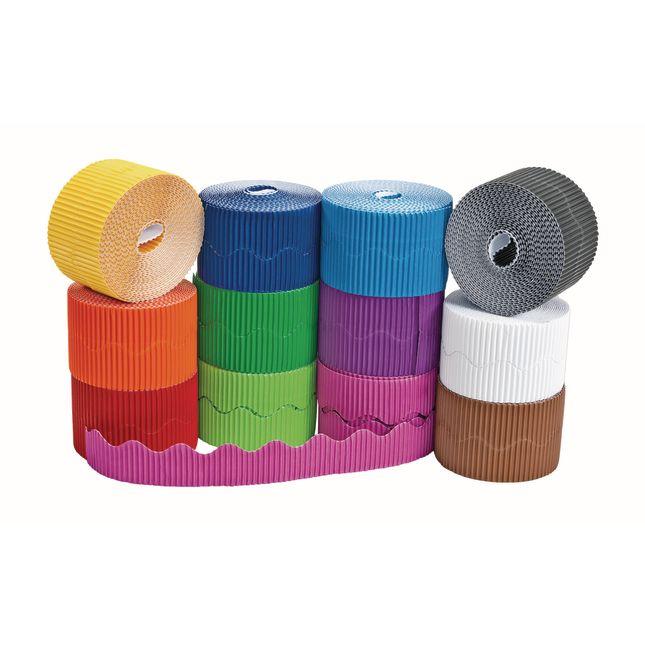 Colorations® Prima-Color™ Borders   12 Colors