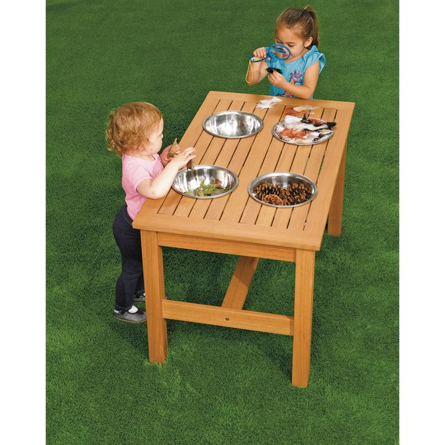 Outdoor Sensory Mixing Table