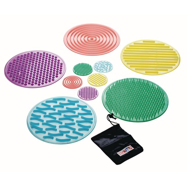 SiliShapes Sensory Circles Set of 10