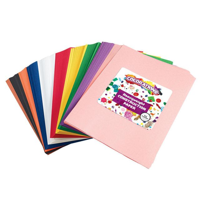 Colorations Construction Paper Smart Pack 9x12 600 Sheets