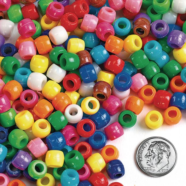 Colorations Pony Beads 1 lb_3
