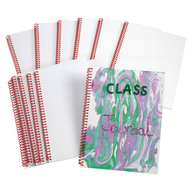 Colorations Blank Journal Notebooks Set of 12