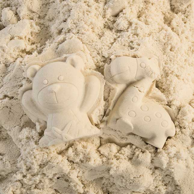 Excellerations Spectacular Sensory Sand White 10 lbs