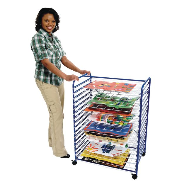 Colorations® Mobile Classroom Drying Rack