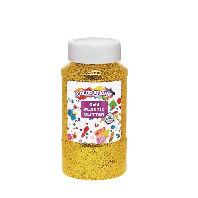 Gold Colorations Extra Safe Plastic Glitter 1 lb