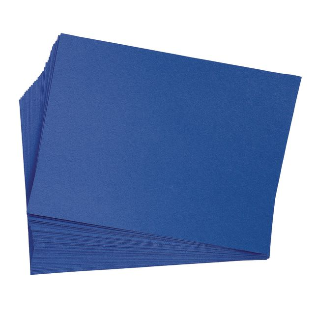 Bright Blue 12 x 18 Heavyweight Construction Paper