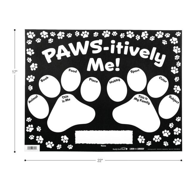 Ready-To-Decorate® All About Me Paws_2