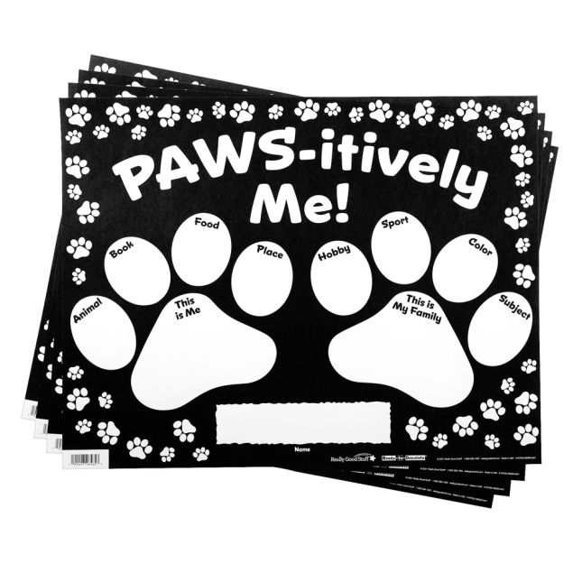 Ready-To-Decorate® All About Me Paws_4