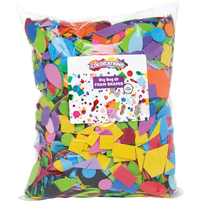 Colorations Big Bag of Foam 1 lb
