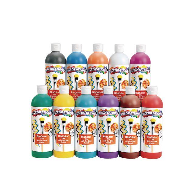 BioColor Paint 16 oz Set of 11
