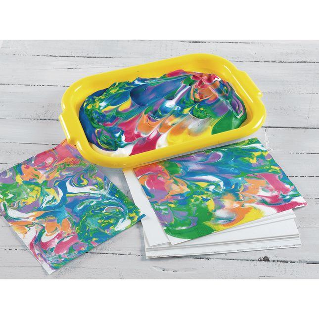 Colorations Brawny Tough Plastic Art Trays Set of 5