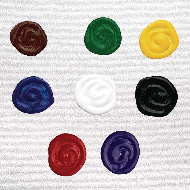 Colorations Acrylic Paint 8 oz Set of 8