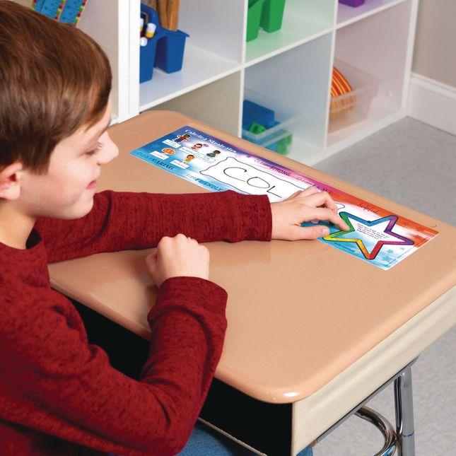 Social-Emotional Learning Self-Adhesive Deluxe Plastic Desktop Helpers_1