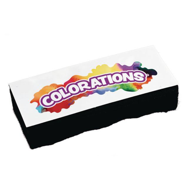 Colorations Dual Use Dry Erase Chalkboard Eraser Set of 10_2