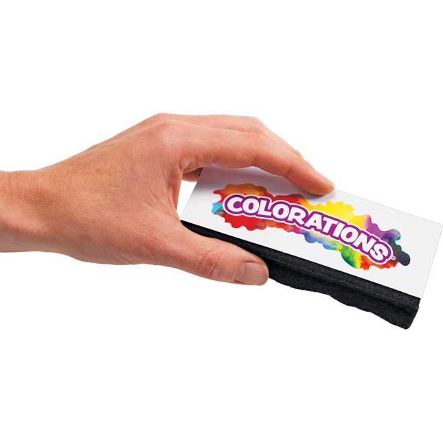 Colorations Dual Use Dry Erase Chalkboard Eraser Set of 10_3