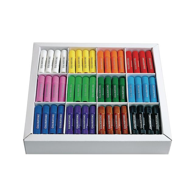 Colorations Tempera Paint Sticks Set of 144