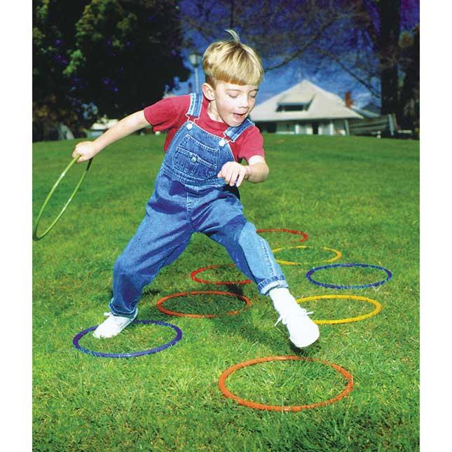 25  Brawny Tough Activity Hoops   Set of 5
