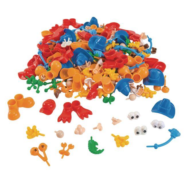 Colorations Creative Creatures Dough Builders 260 Pieces
