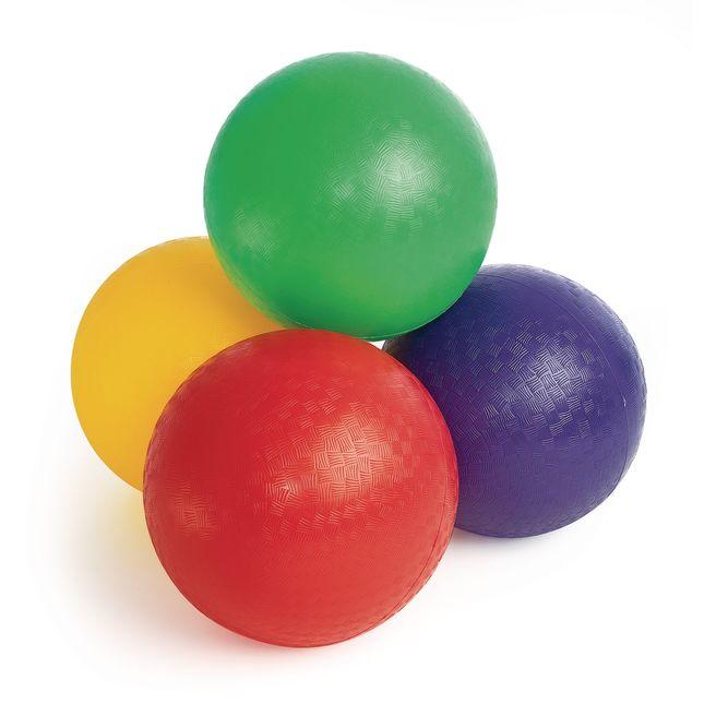 Best Value Playground Balls   Set of 4