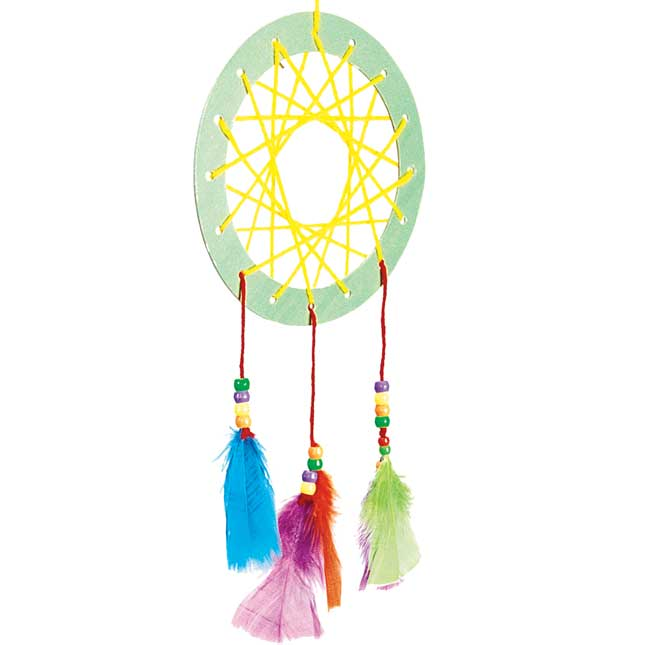 Colorations Native American Dream Catcher Craft Kit Kit for 12