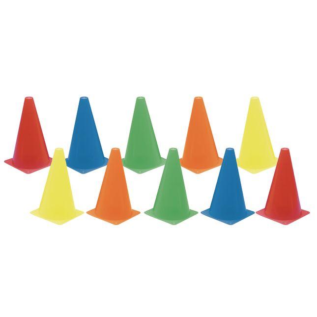 Colored Cones   Set of 10