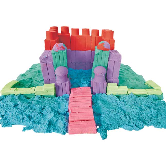 Excellerations Spectacular Sensory Sand Set of 6 Colors