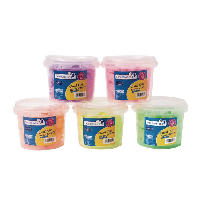 Excellerations Cloud Clay Set of 5