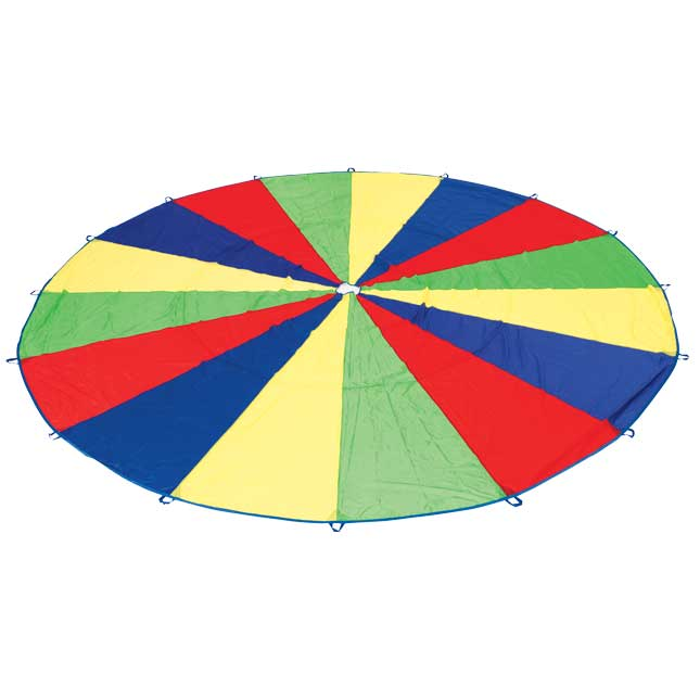 Excellerations Brawny Tough Rainbow Parachute   20 Dia