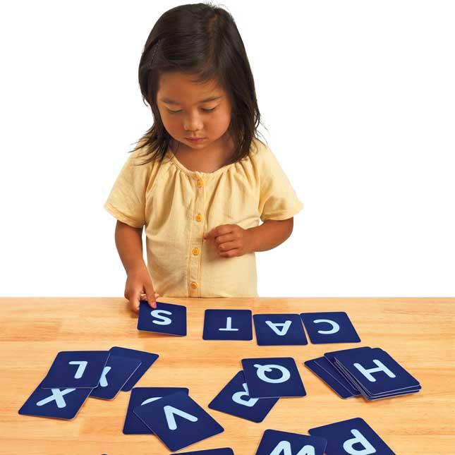 Excellerations Tactile Upper Case Alphabet Letters