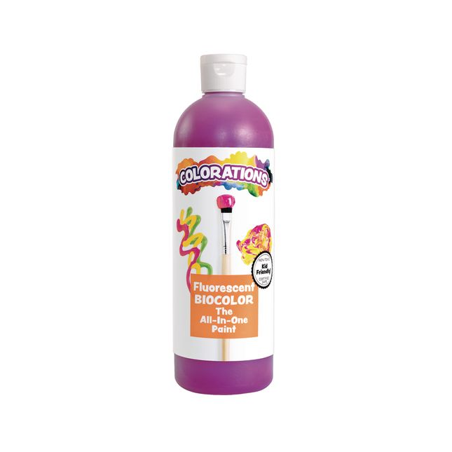 BioColor Paint Fluorescent Purple 16 oz