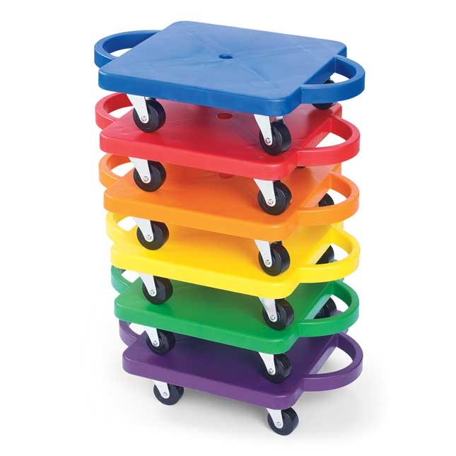 Rainbow Rollers   Set of 6