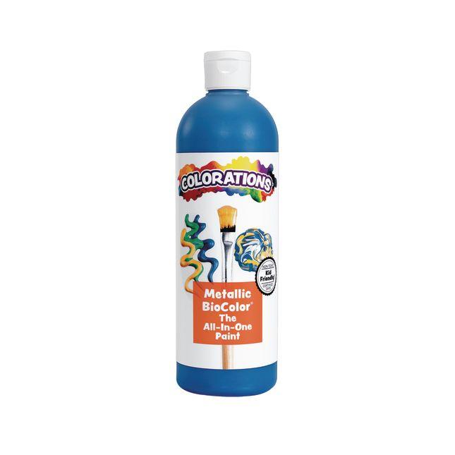 BioColor Paint Metallic Blue 16 oz