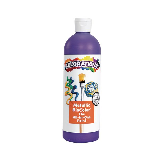 BioColor Paint Metallic Purple 16 oz