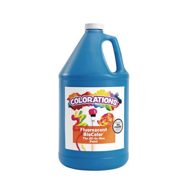 BioColor Paint Fluorescent Blue 1 Gallon
