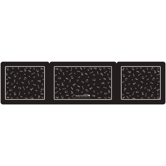 Deluxe Privacy Shields   Large   Set of 6   Black_2