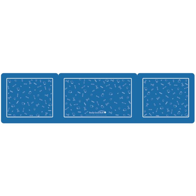 Deluxe Privacy Shields   Large   Set of 6   Blue