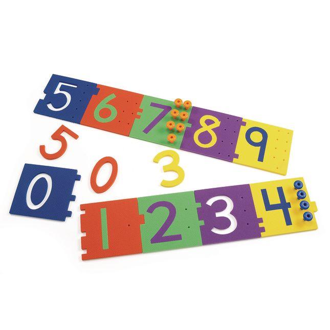 Excellerations Giant Peg Numerals 70 Pieces