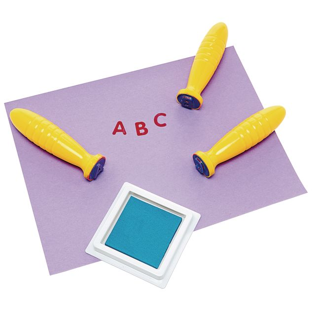 Colorations Good Grasp Stamping Sticks Uppercase
