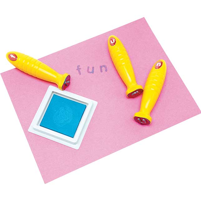 Colorations Good Grasp Stamping Sticks Lowercase