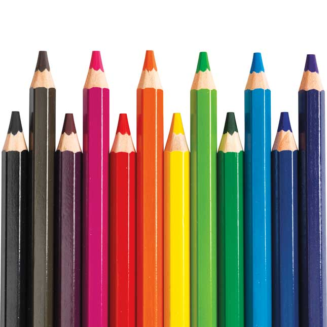 Colorations Jumbo Colored Pencils Set of 120