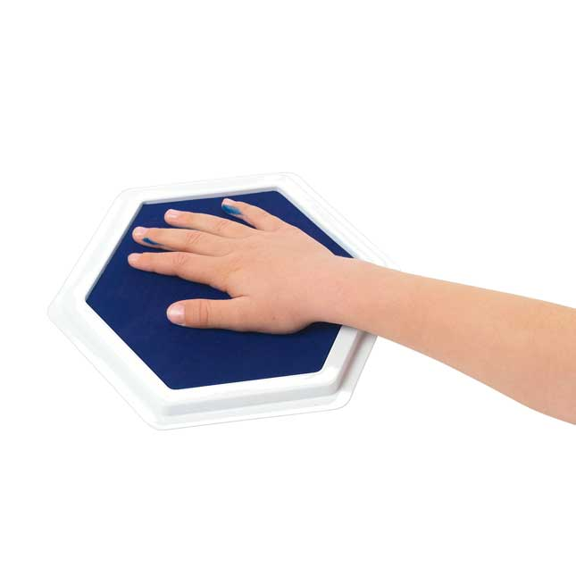 Colorations Jumbo Washable Stamp Pads Set of 12