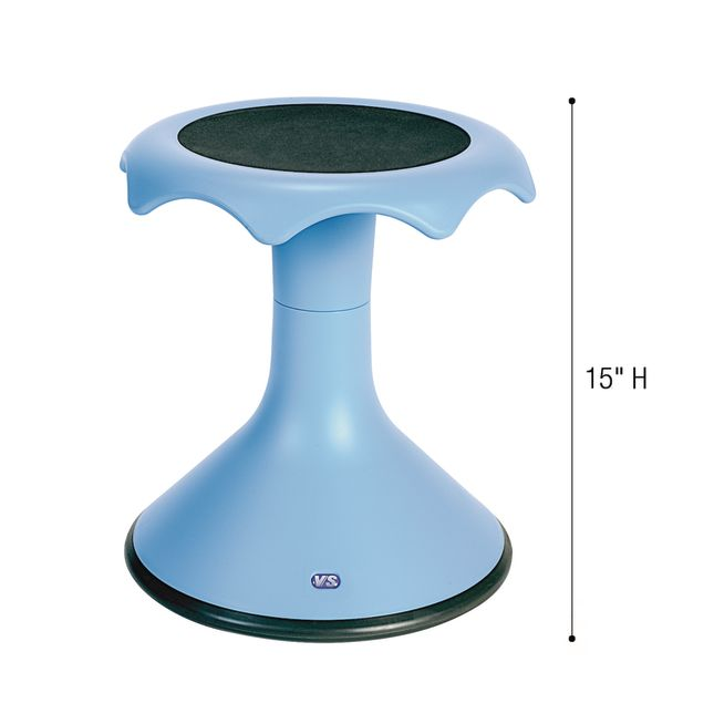 "15"" Hokki Stool - Blue - 1 stool"