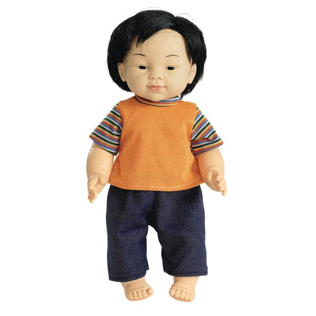 "16"" Multicultural Toddler Doll - Asian Boy - 1 doll"