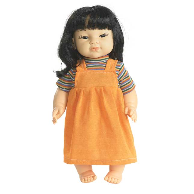 """16"""" Multicultural Toddler Doll - Asian Girl - 1 doll"""