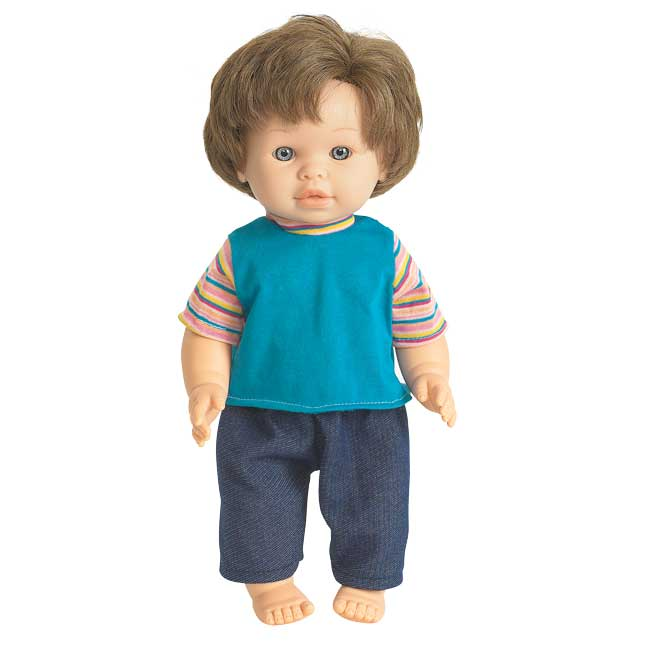"""16"""" Multicultural Toddler Doll - Caucasian Boy - 1 doll"""