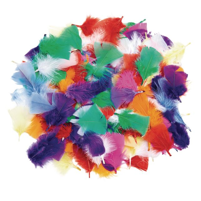 Colorations Rainbow Feathers 3 oz