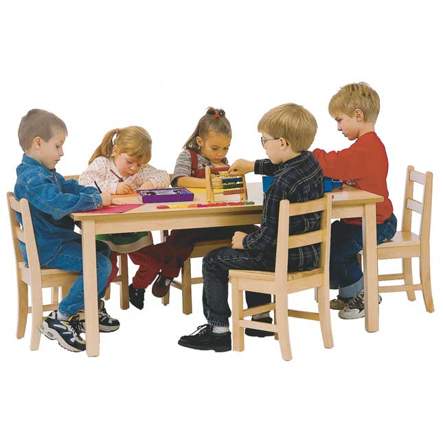30  x 48  Maple Laminate Table   20 H