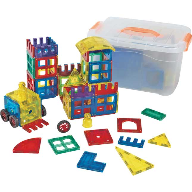 Excellerations STEM Magnetic Builders 130 Pieces