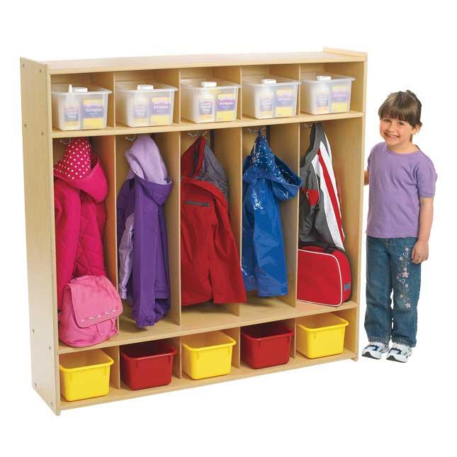 Angeles Value Line 5-Section Locker - 1 locker