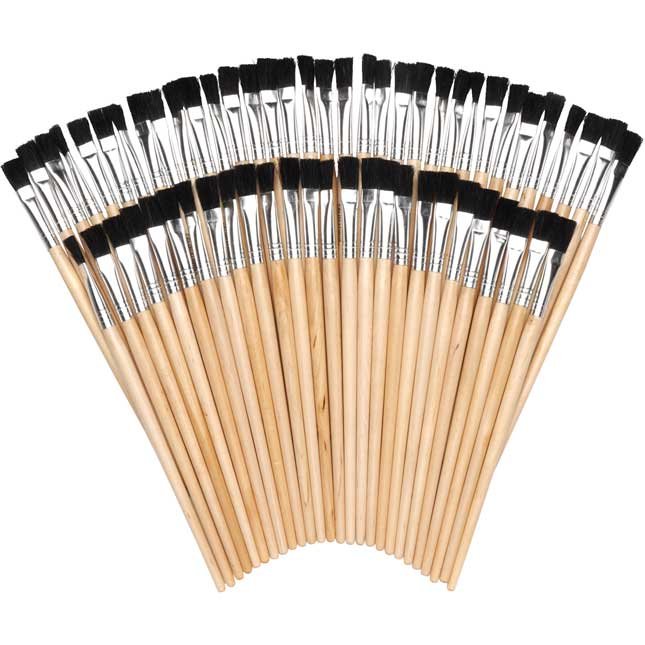 Colorations Teachers Favorite Easel Brush Set of 60